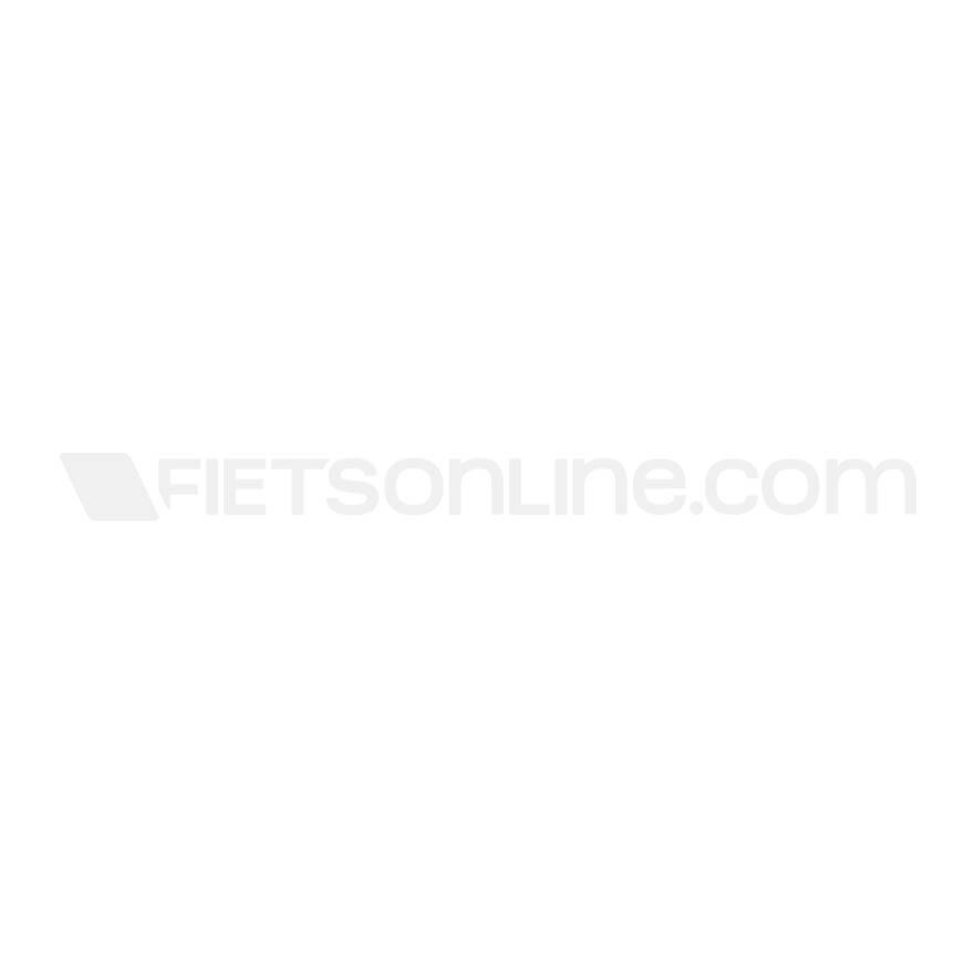 Fastrider Dubbele Fietstas Led Hybride Groot 98 Zwart/Bruin