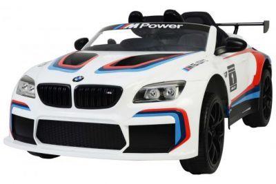 BMW M6 GT3 wit Elektrische Auto met Afstandsbediening 12 Volt