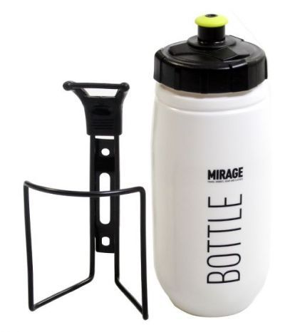 Mirage bidon + houder 600cc Star wit