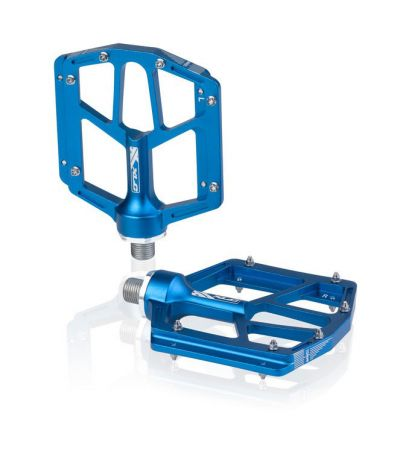XLC pedaalset Platform blauw PDM14