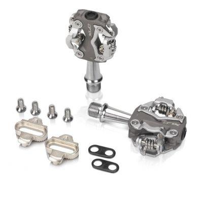 XLC pedaalset ATB grijs zilver PDS15