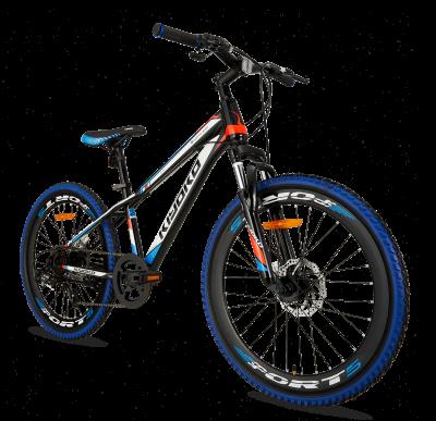 Popal Kiyoko 24 inch mountainbike jongensfiets blauw