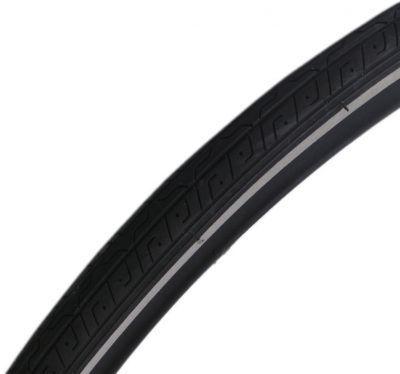 Deli Tire buitenband 27 x 11/4 (32-630 - zwart met reflectie