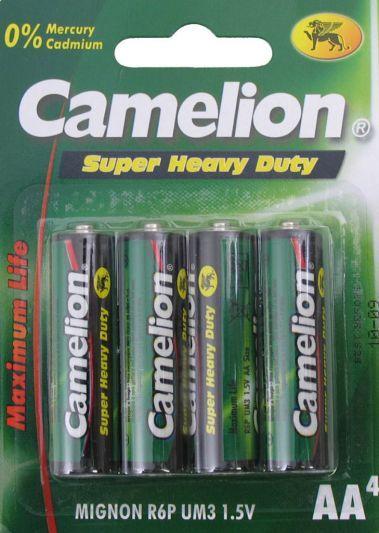 Camelion batterij R6/AA 1.5V (4-stuks)