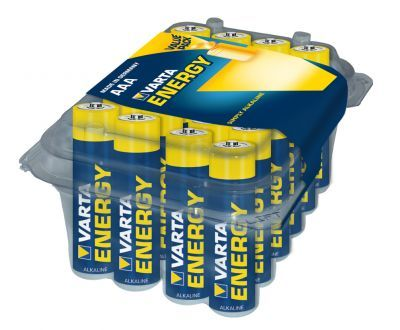 VARTA batterij Energy Alkaline AAA/LR03 (Box = 24stuks)