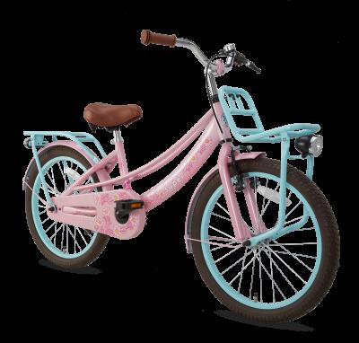 Popal Lola 20 inch meisjesfiets roze-turquoise