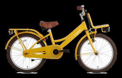 Popal Cooper Bamboo 20 inch meisjesfiets geel
