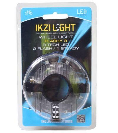 IKZI naaflicht 8 led wit