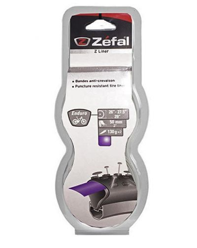 """Zefal Anti Lek Tape ATB 26-29"""" 50mm pa (set van 2 stuks) paars"""