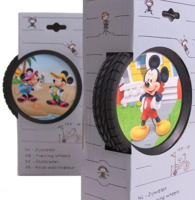 Widek Zijwielen Mickey Mouse voor 12½ inch - 18 inch fietsen