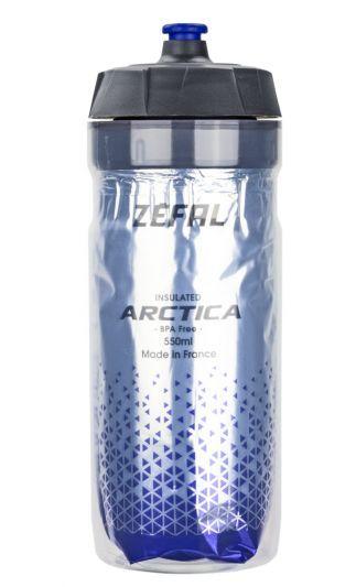 Zefal bidon Arctica 55 550ml zilver/blue