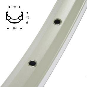 Rigida ZAC19 velg 26 ATB aluminium  36/14