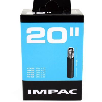 Impac binnenband 20 inch 20x1.75-2.35 (47/60-406) Scooter (auto) ventiel 35 mm