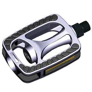 Union pedalen 811 aluminium grijs / zwart