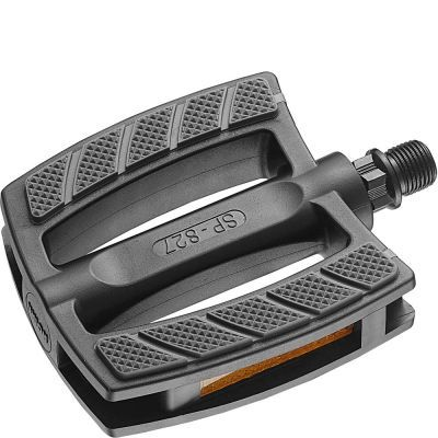 Union pedalen SP-827 aluminium zwart