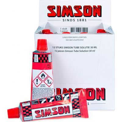 Simson tube solutie 30ml (doos van 12 stuks)