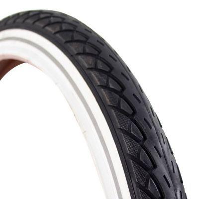 Deli Tire buitenband 22x1.75 (47-457) reflectie zwart/wit
