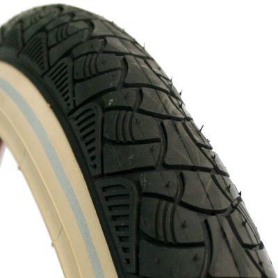 Deli Tire buitenband 24x2.125 (57-507) reflectie zwart/creme