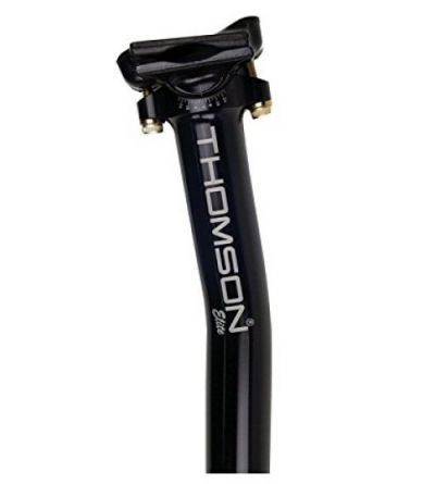 Thomson zadelpen Elite 30.0x410 sb zwart