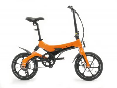 Bohlt X160 16 inch Elektrische vouwfiets oranje