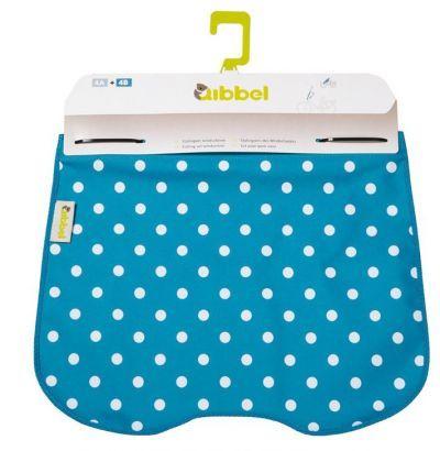 Qibbel windschermflap Qibbel Polka Dot blauw