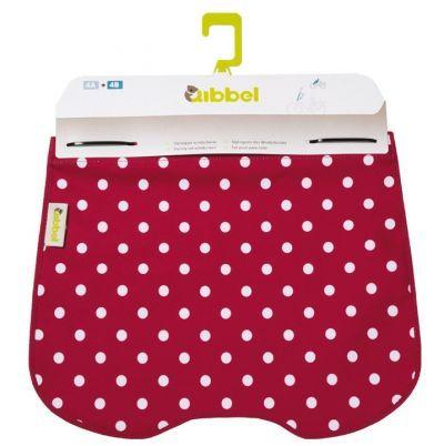 Qibbel windschermflap Qibbel Polka Dot rood