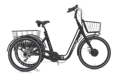 Vogue Tri-Velo 7v elektrische driewieler Matt Grey