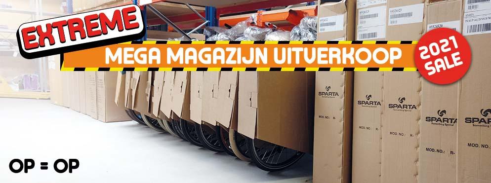 Fietsonline.com Mega Magazijn Uitverkoop 2021