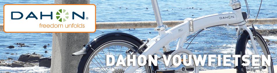 Alle vouwfietsen van het merk Dahon